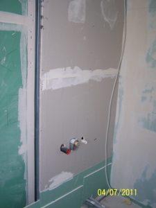 Feuchtraum-Trockenbauwand-falsche Gipskartonplatten