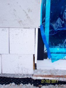 Mangelhaft ausgeführtes Außenmauerwerk 02